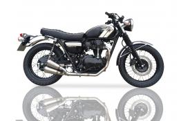 "Honda CB1300 Super Four 9/"" Stainless Oval Muffler Exhaust 03-08 09 10 11 12 13"